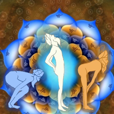 Illustration of the Wahe Guru Kriya and Ek Ong Kaur Mendala