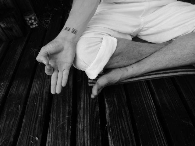 Gyan Mudra Fingers