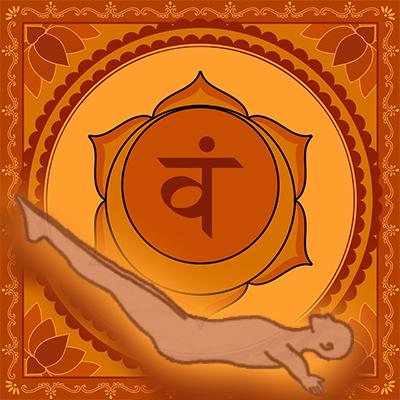 Kundalini Nahbi Kriya - Sacral Chakra Swadhisthana Illustration