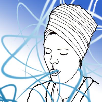 Kundalini Sitali Breathing Illustration