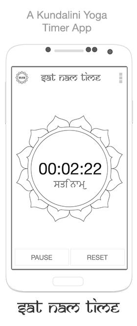 Kundalini Yoga Timer - Sat Nam Time